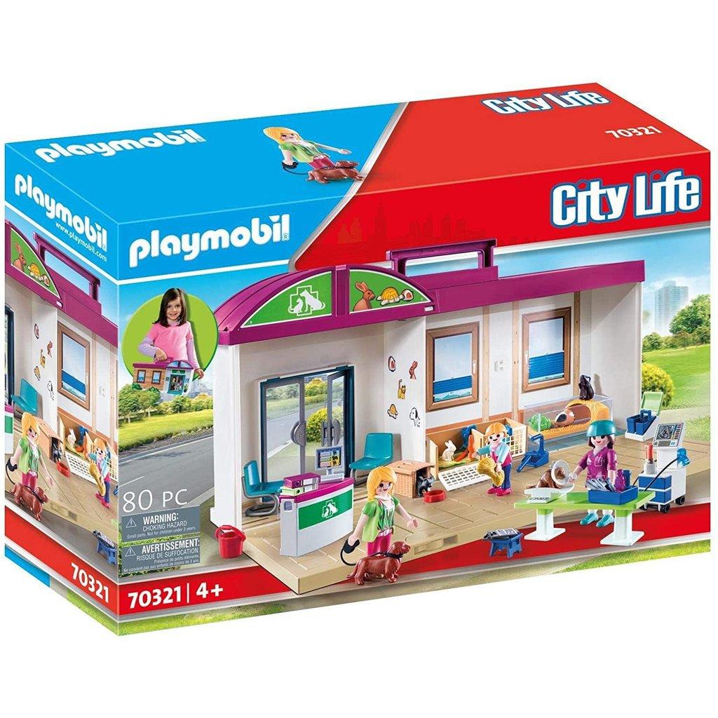 Playmobil Playmobil Take Along Vet Clinic