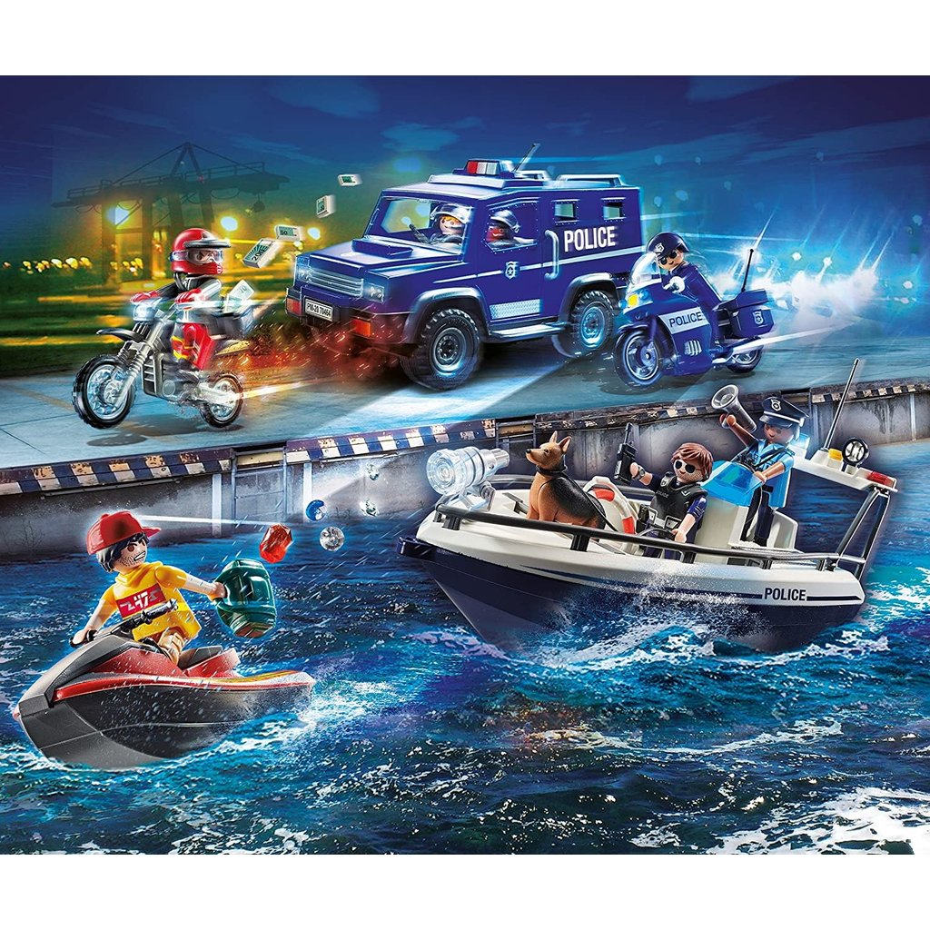 Playmobil Playmobil Action Police High Speed Chase