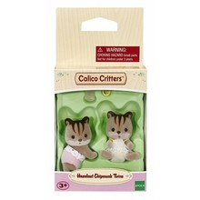 Calico Critters Calico Critters Twins Hazelnut Chipmunk