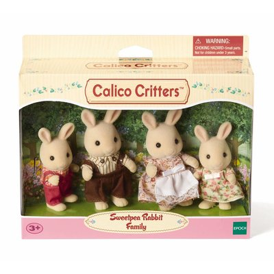 Calico Critters Calico Critters Family Sweet Pea Rabbit Family