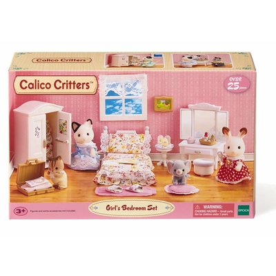 Calico Critters Calico Critters Room Floral Bedroom Set