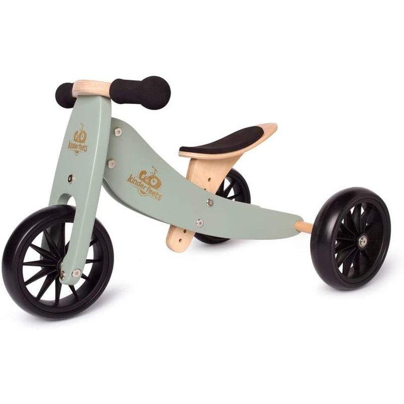 Kinderfeets Kinderfeets Tiny Tots Convertible Balance Bike Sage