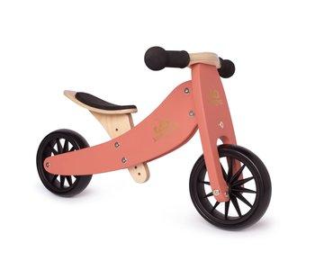Kinderfeets Tiny Tots Convertible Balance Bike Coral