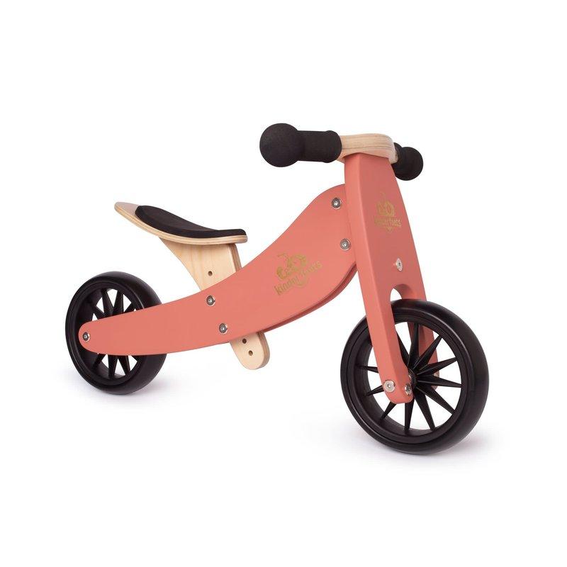 Kinderfeets Kinderfeets Tiny Tots Convertible Balance Bike Coral