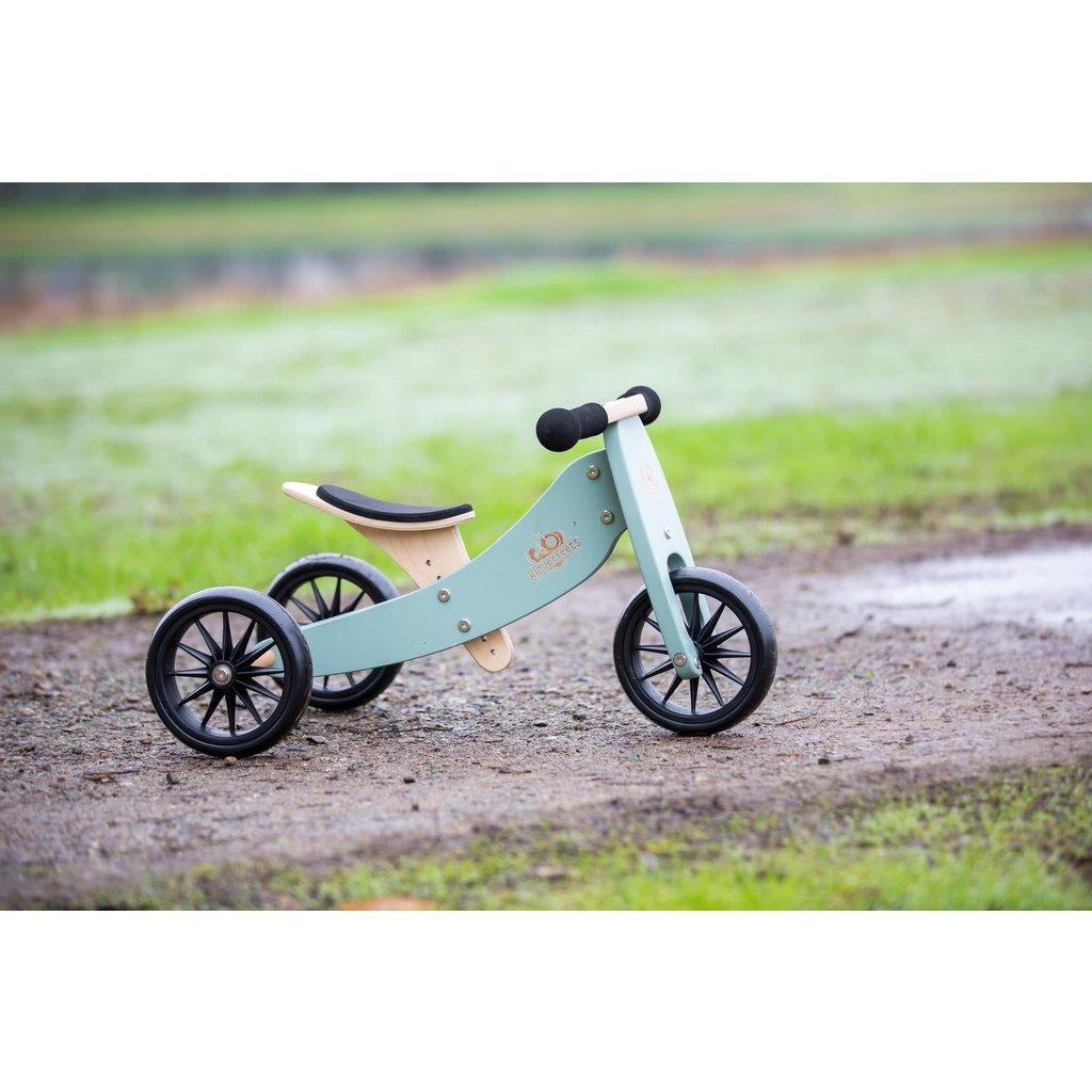 Kinderfeets Tiny Tots Convertible Balance Bike Sage