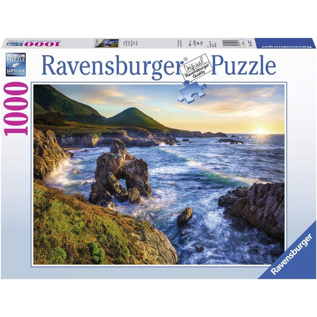 Ravensburger Ravensburger Puzzle 1000pc Big Sur Sunset