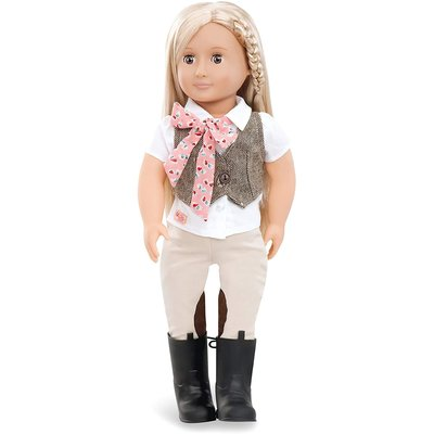 """Our Generation Our Generation 18"""" Doll: Leah Riding"""