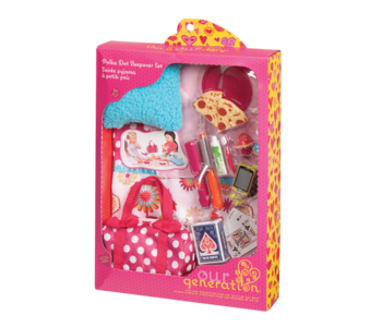 Our Generation Doll Accessory Set: Polka Dot Sleepover