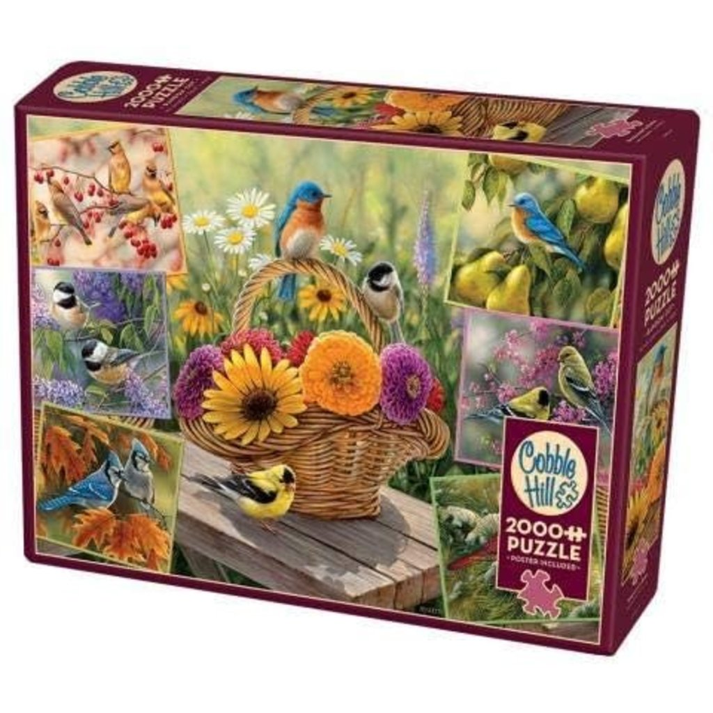 Cobble Hill Puzzles Cobble Hill Puzzle 2000pc Rosemary's Birds