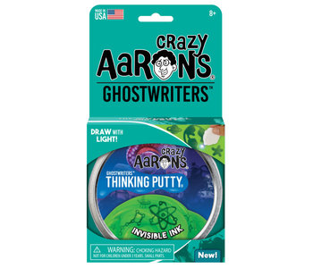 Crazy Aaron's Thinking Putty Ghostwriters Invisible Ink