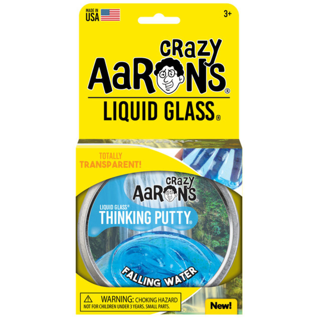 Crazy Aaron Crazy Aaron's Thinking Putty Illusions Falling Water Liquid Glass