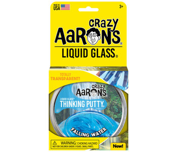 Crazy Aaron's Thinking Putty Liquid Glass Falling Water