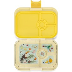 Yumbox Lunch Box 4 Compartmant Panino Sunburst Yellow