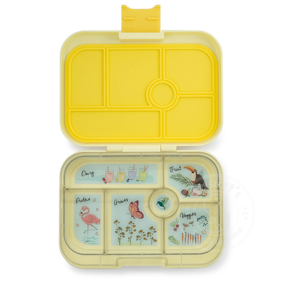 Yumbox Lunch Box 6 Compartmant Sunburst Yellow