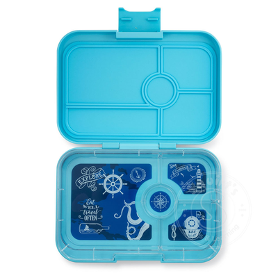 Yumbox Lunch Box Tapas 4 Compartmant Nevis Blue