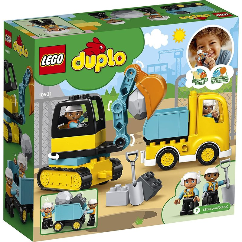 Lego Lego Duplo Truck and Tracked Excavator
