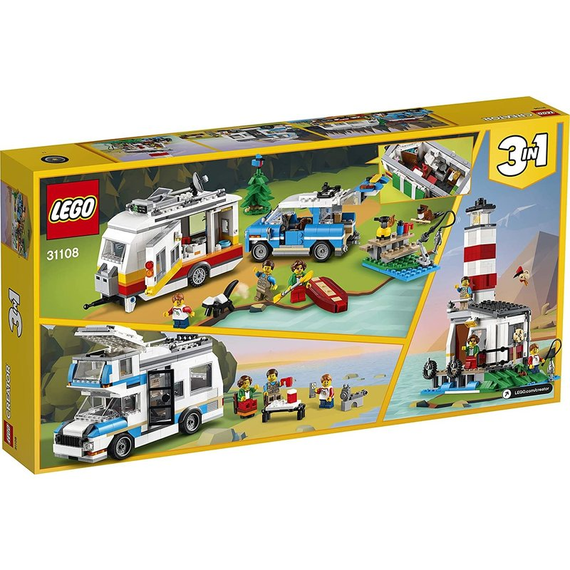 Lego Lego Creator Caravan Family Holiday