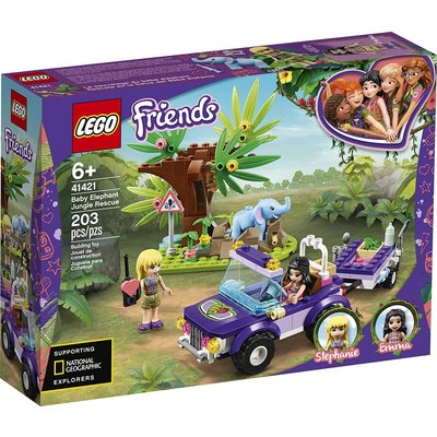 Lego Lego Friends Baby Elephant Jungle Rescue