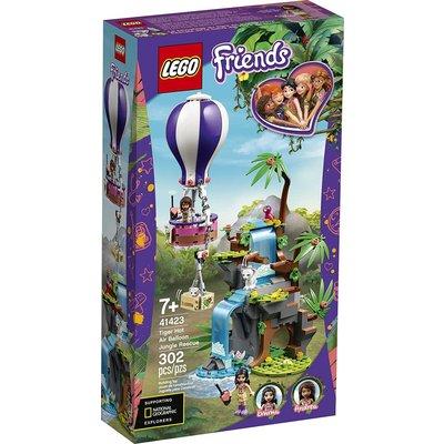 Lego Lego Friends Tiger Hot Air Balloon Rescue