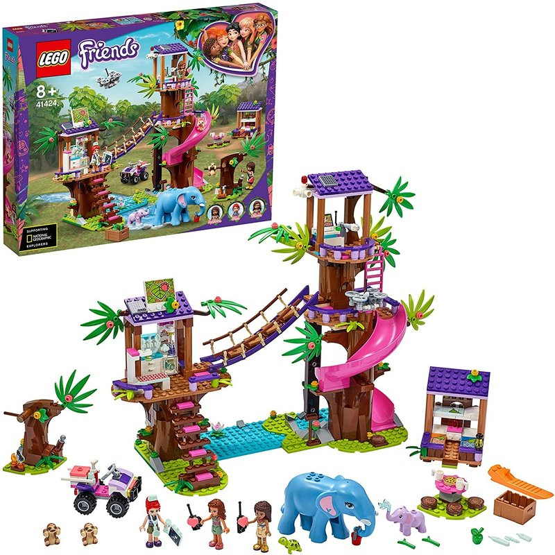 Lego Lego Friends Jungle Rescue Base