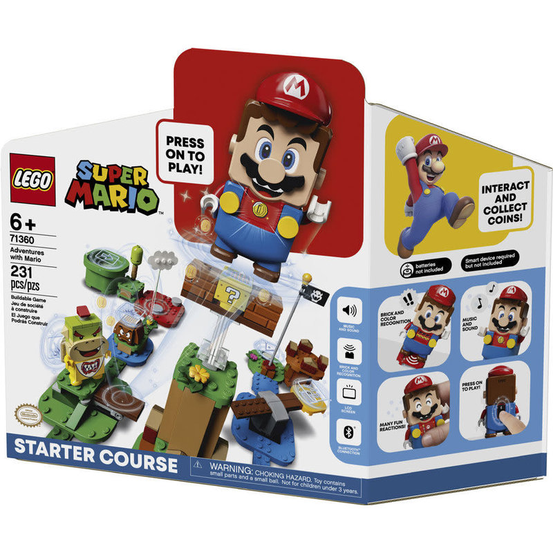 Lego Lego Super Mario Adventures with Mario Starter Course