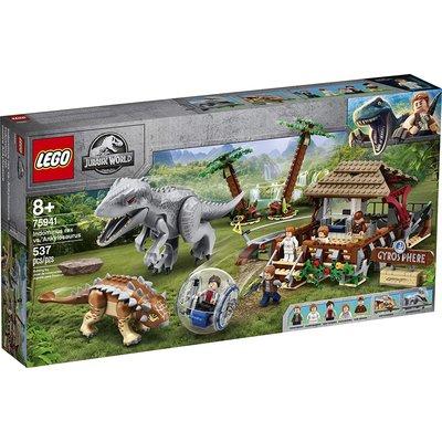 Lego Lego Jurassic World Indominus Rex vs Ankylosaurus