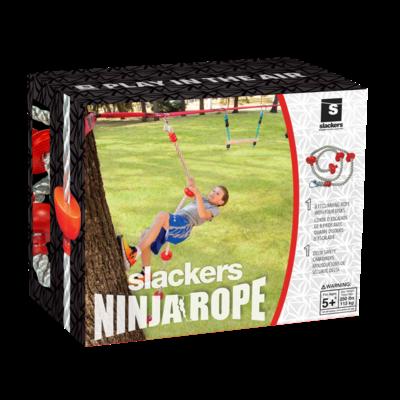 Slackers Slackers Ninja Climbing Rope 8' with Foot Holds