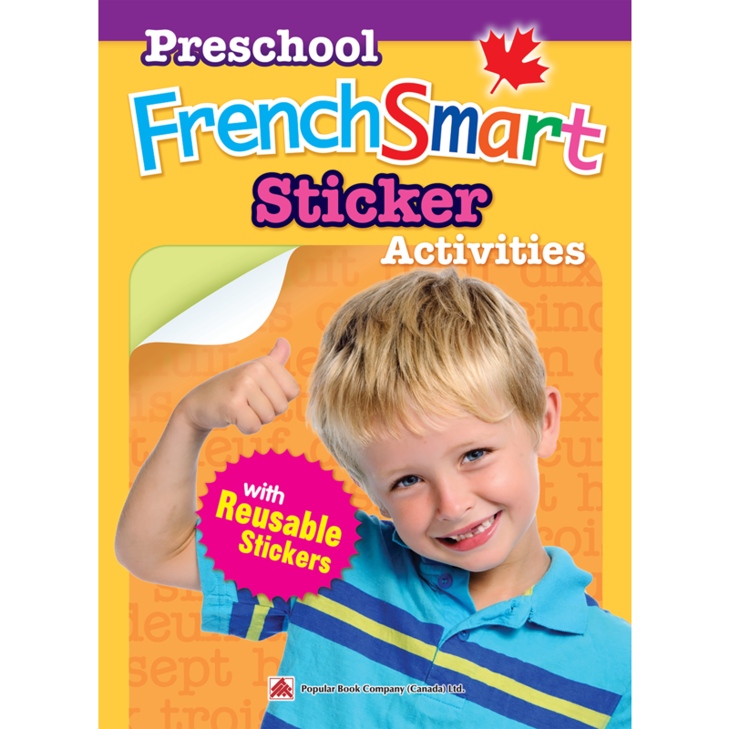 Frenchsmart Book Preschool Stickers