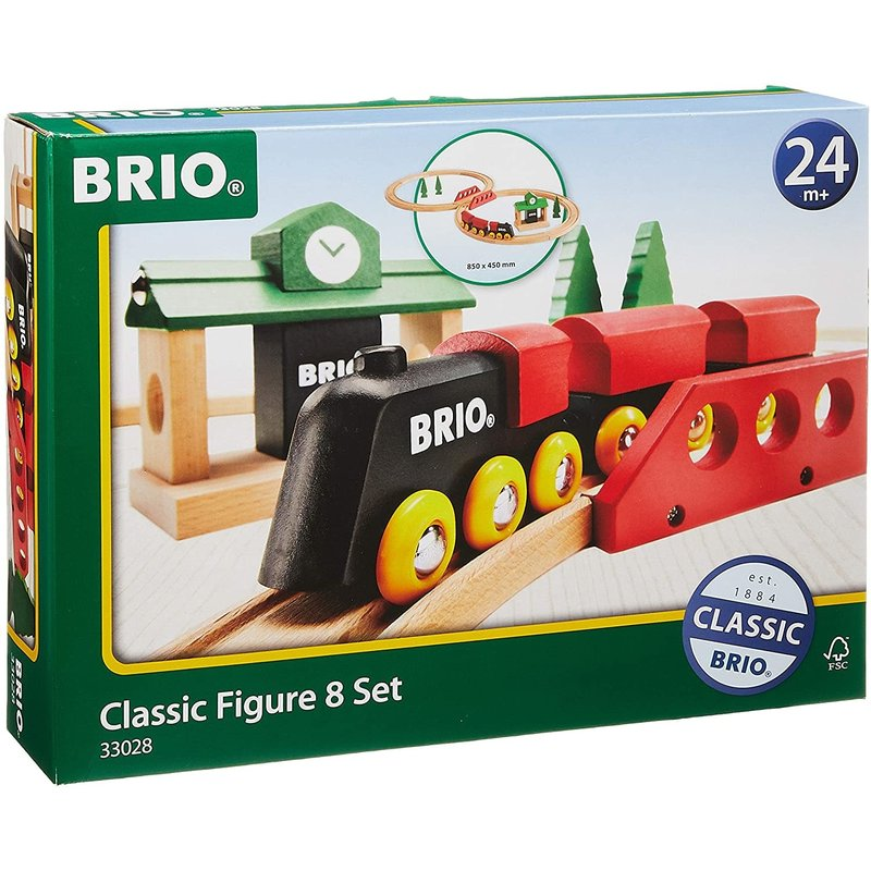 Brio Brio Classic Train Figure 8 Set