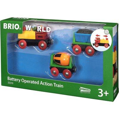 Brio Brio World Train Battery Action Train