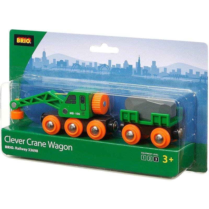 Brio Train Clever Crane Wagon