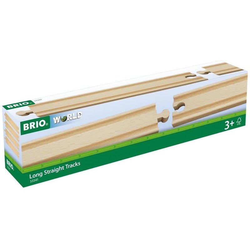 Brio World Train Tracks Long Straight