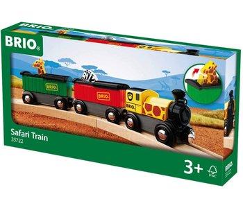 Brio World Train Safari Train