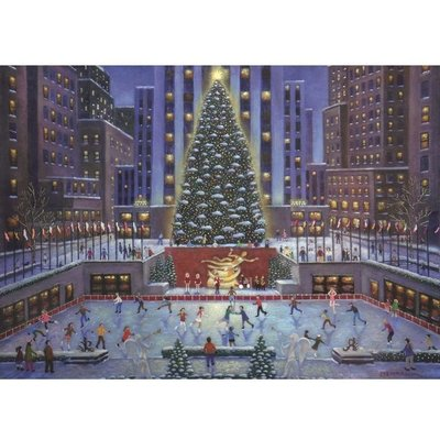 Ravensburger Puzzle 1000pc Rockefeller Center