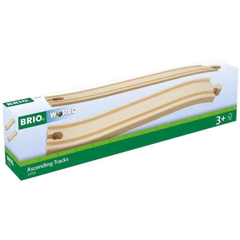 Brio Brio World Train Tracks Ascending
