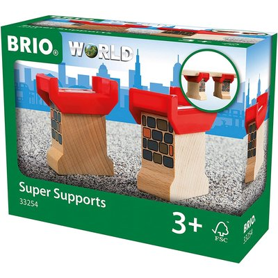 Brio Brio World Train Track Super Supports