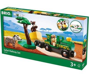 Brio World Railway Safari Train Starter Set