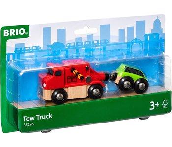Brio World Train Tow Truck