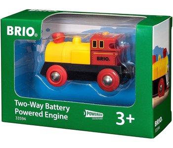 Brio World Battery Train Two-Way Engine