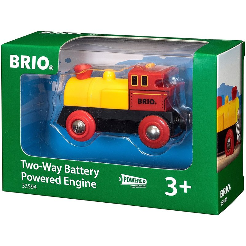 Brio Brio World Battery Train Two-Way Engine
