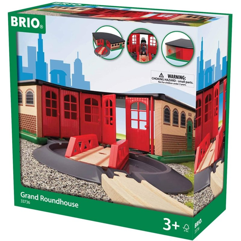 Brio Brio Train Grand Roundhouse