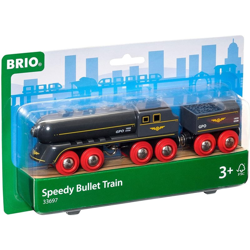 Brio Brio World Train Speedy Bullet Train