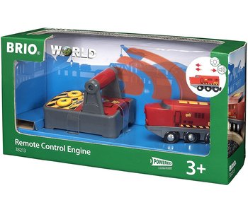 Brio World Train Remote Control Engine