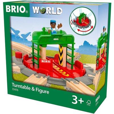 Brio Brio World Train Turntable & Figure