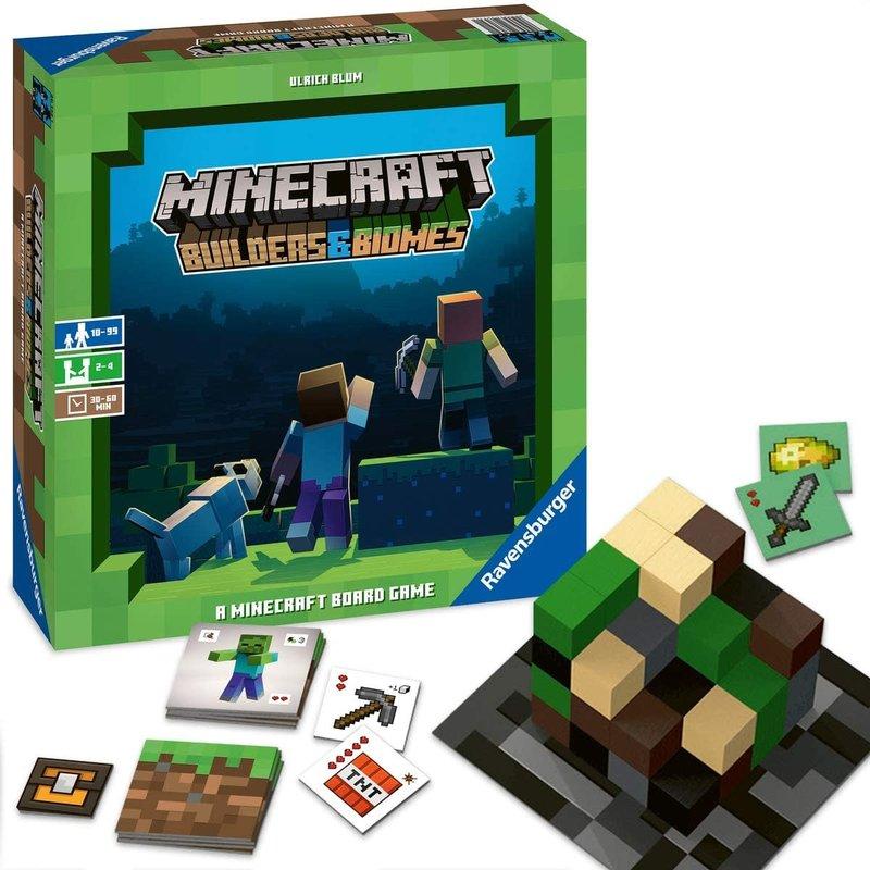 Ravensburger Ravensburger Game Minecraft: Builders & Biomes