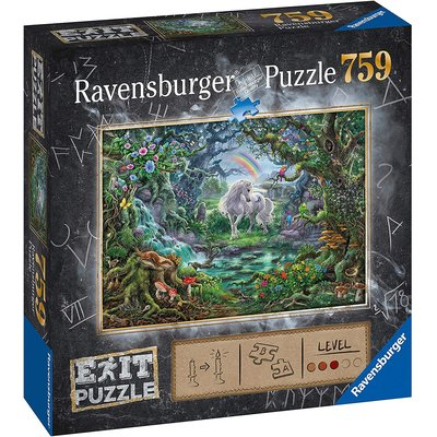Ravensburger Ravensburger Escape Puzzle Unicorn 759pc
