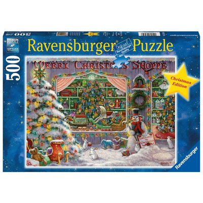 Ravensburger Puzzle 500pc Christmas Shop