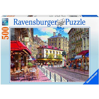 Ravensburger Ravensburger Puzzle 500pc Quaint Shops