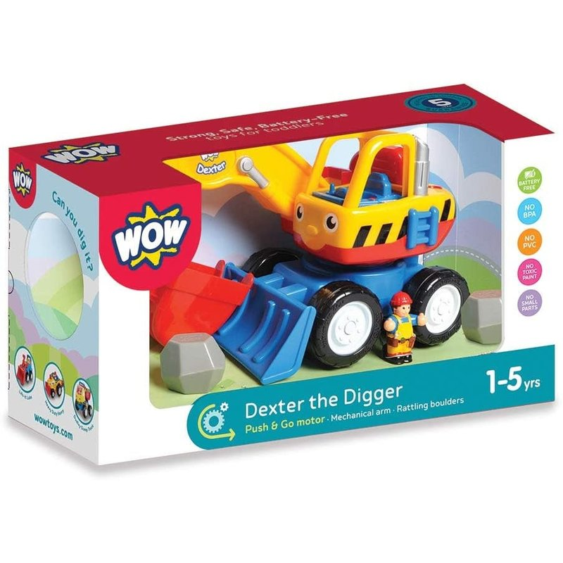Wow Toys Wow Toys Dexter The Digger