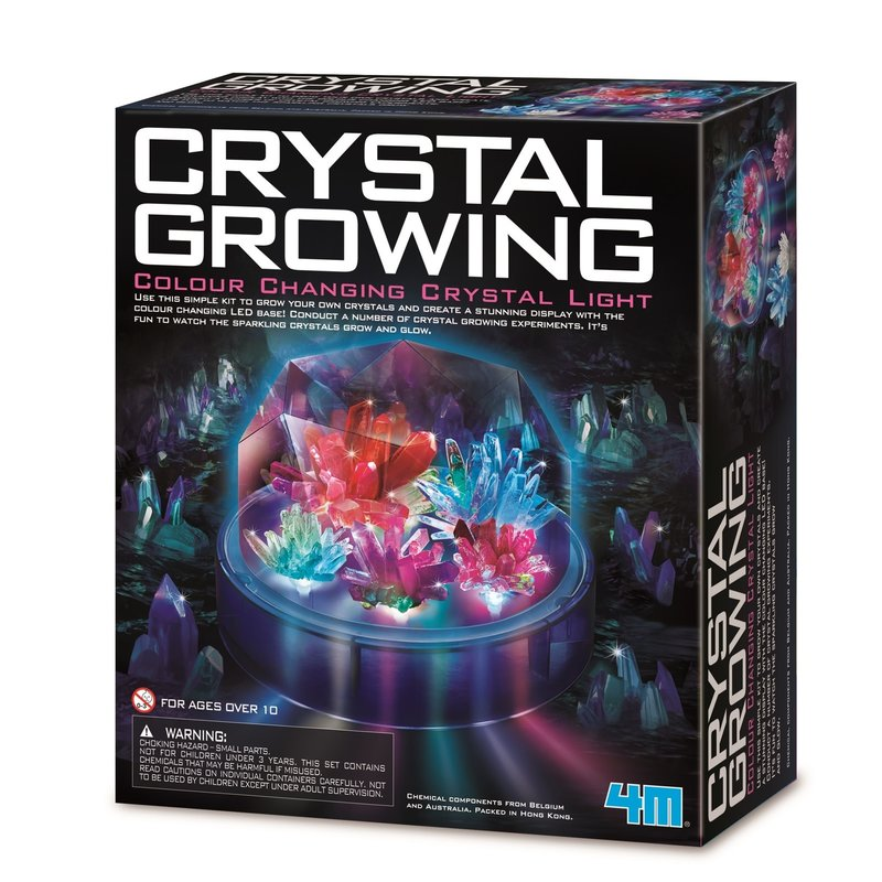 4M Crystal Growing Light Up Display